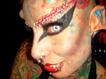 Maria Jose Cristerna Vampire 5